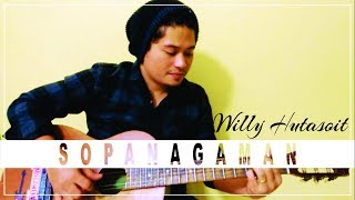 By Willy Hutasoit. Versi ini terinspirasi dari grup band Batak (Go'Rame Band), saya mencoba membawakan kembali dengan versi gitar akustik. Performed by ...