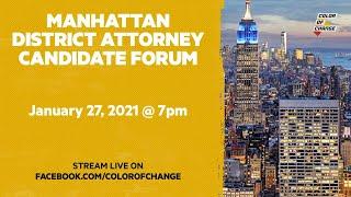 Manhattan DA Forum
