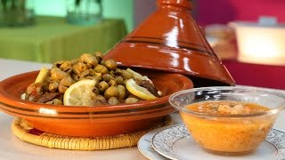 Choumicha : Soupe d'orge (Balboula) aux crevettes   شميشة : حساء الشعير بالجمبري والخضر
