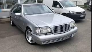 Mercedes W140 1996 год.