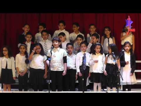 حفلة مدارس الاحد احد الشعانين 2016