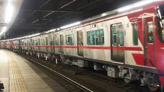 2019.11.7名鉄9500系9503F+9504F新車自走回送舞木検査場へ