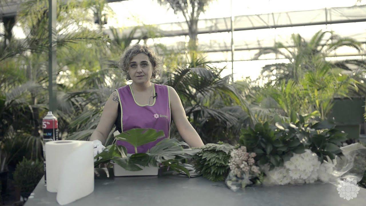 cmo hacer un bonito centro de flores para iglesia rivera garden youtube
