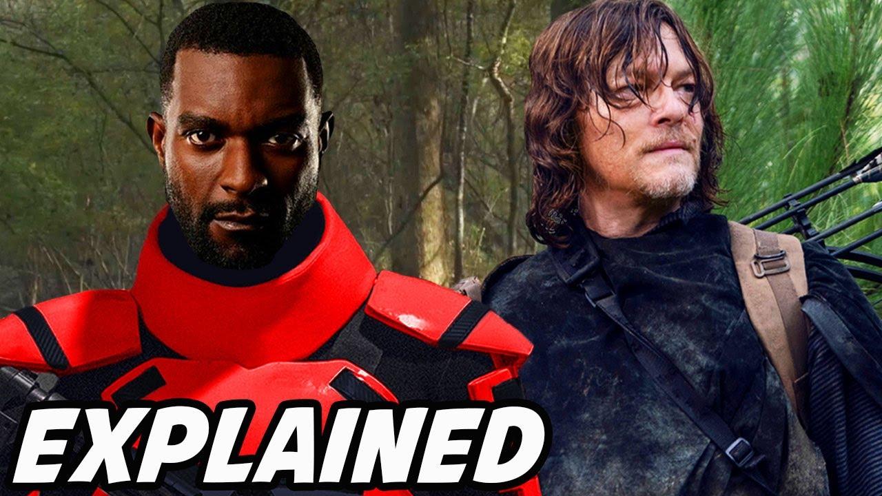 'Officer Mercer FIRST SCENE & Daryl Looks For Rick Grimes' The Walking Dead Season 10 Episode 18