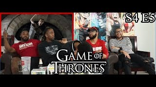 Game of Thrones Season 4 Episode 5 First Of His Name Reaction/Review