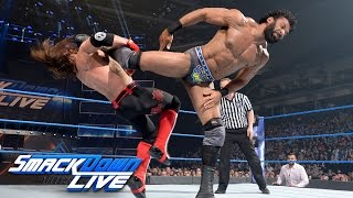Video AJ Styles vs. Jinder Mahal: SmackDown LIVE, May 16, 2017 download MP3, 3GP, MP4, WEBM, AVI, FLV September 2017