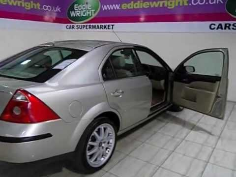 Ford Mondeo Exterior Interior Tour Of A 04 Plate 20 TDCI 130 Bhp Ghia X Automatic 5 Door