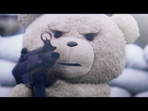 Ted Plays Call of Duty! [Live Action Short]