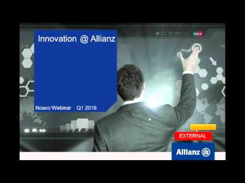 Webinar: Innovation at Allianz - Continuous Improvement & Discruptive innovation