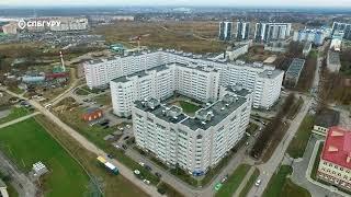 ЖК«Гармония»— аэросъемка СПБГуру. Ноябрь 2017.
