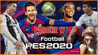 PARCHE 17 PES 18 - XBOX 360 RGH / 3.0 + Plantillas Otoño 2019 + DLC 4.01 + TU 8