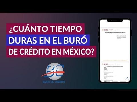 ¿Cuánto Tiempo Duras en el Buró de Crédito en México? ¿Tarda Mucho en Desaparecer tu Historial?