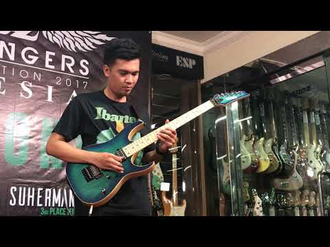 1st Place Winner of Ibanez Flying Fingers Indonesia 2017 Akbar Ajie Mp3