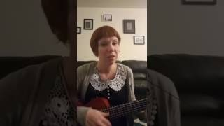 Upside down ukulele cover