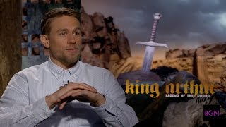 BGN Interview with KING ARTHUR: LEGEND OF THE SWORD's Charlie Hunnam and Djimon Hounsou
