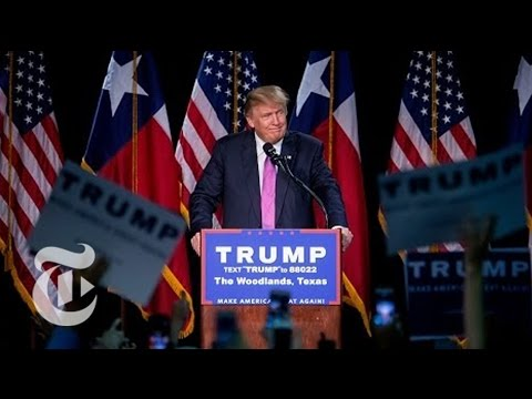Trump Delivers Speech on Election