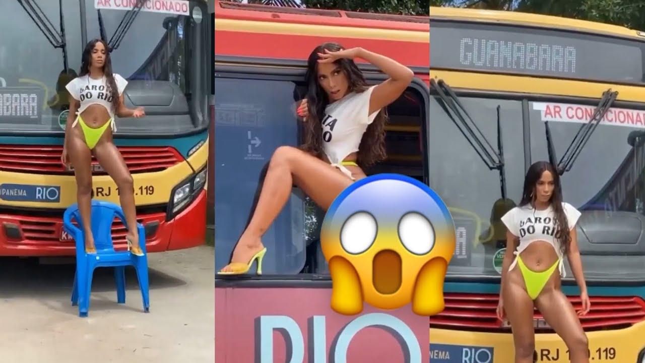 """Anitta Libera Bastidores da Capa de """"Girl From Rio"""""""