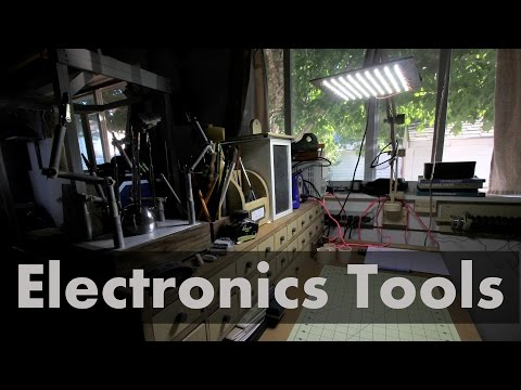 Electronics Shop Tour - What You Need To Get Started