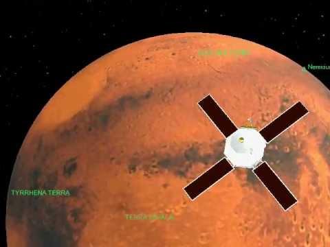 Mariner 9 journey over Mars by chandru arni