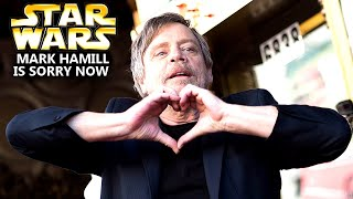 Mark Hamill Is Sorry Now! This Is HUGE (Star Wars Explained)