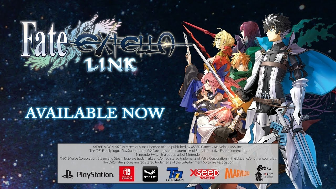 Fate/EXTELLA LINK – XSEED Games