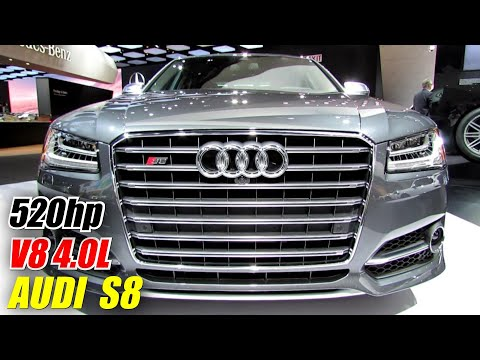 2014 Audi S8 Exterior and Interior Walkaround 2014 Detroit Auto Show
