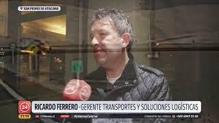 """""""Cuesta el Cuervo"""": La complicada zona donde se registró el accidente de dos camiones"""