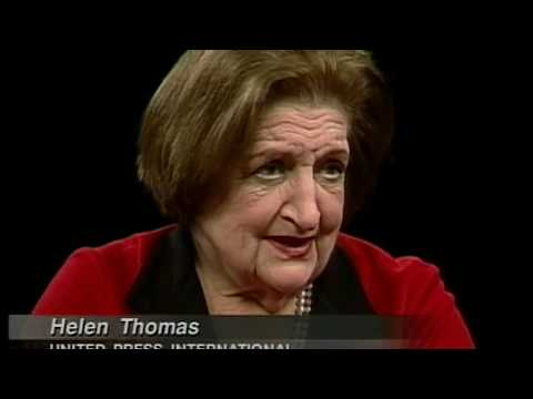 Helen Thomas interview (1999)
