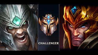 Tryndamere jungle vs Jarvan jungle challenger - tryndamere bán hành cho team bạn