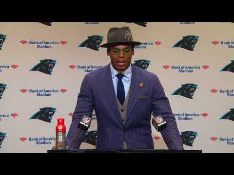 Cam Newton: I'm disappointed in myself but happy for the whole team.
