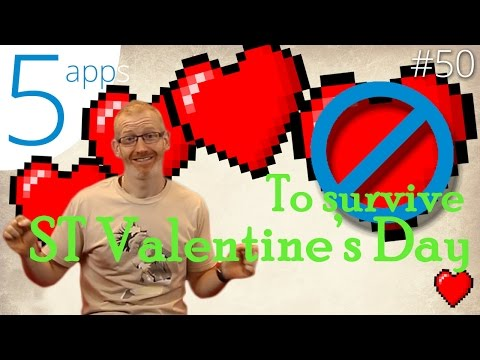5 apps to survive Valentine's Day
