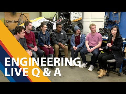 UVic Faculty Of Engineering Live Q & A