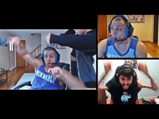 TYLER1 REACTS TO ALL YASSUO RAGES AFTER THEIR BET - DANCE WITH MACAIYLA | FAKERS OLD ZED | LOL