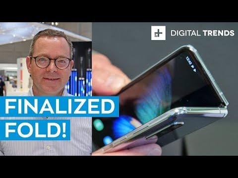 Samsung Galaxy Fold Finalized | Hands On