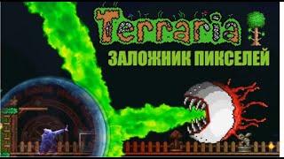 Terraria. Попал внутрь игры.  Обзор на игру террария. выживание, боссы, крафт, история, сюжет.