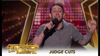 Samuel J Comroe: The Twitchy Comedian Is Hilarious! | America's Got Talent 2018