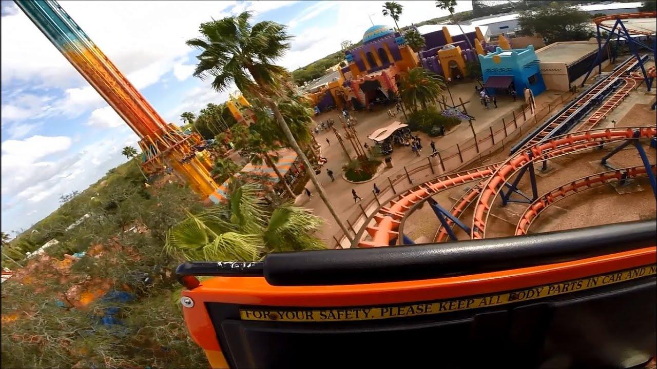 Scorpion Busch Gardens POV GoPro Hero 3+ 1080p Super View - 11-JAN ...