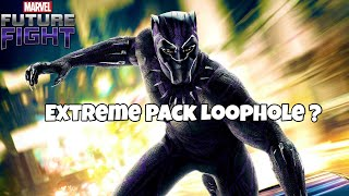 Black Panther Extreme Pack Loophole? | Marvel Future Fight