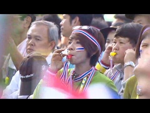 Thousands march against government in Thailand.
