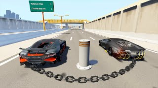 HIGH SPEED CAR CRASHES & JUMPS #1 (BeamNG Drive)