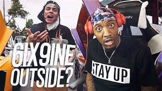 OH SH*T HE OUTSIDE! | 6IX9INE- PUNANI (REACTION!!!)