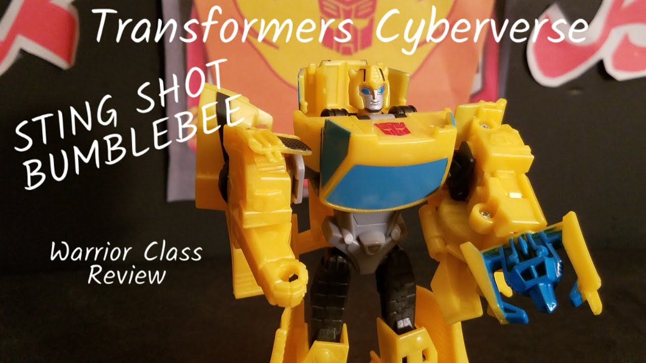 #1 Transformers Cyberverse Action Figure Bumblebee Sting Shot Scout Class NEW Action- & Spielfiguren