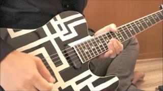 BOØWY/LIAR GIRLを弾いてみました。 久々にギター弾いたら指つりました...