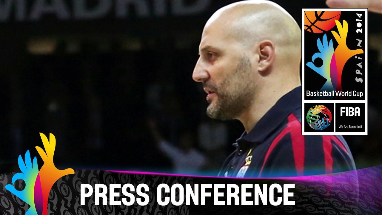 Serbia - Final Pre-Game Press Conference