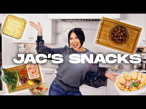 EASY DELICIOUS AT HOME SNACKS! | JAC'S SNACKS - EPISODE 2