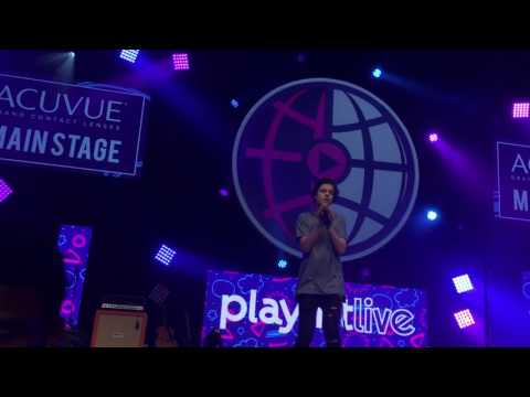 Alexander Stewart - shape of you (cover) - PLAYLIST LIVE ORLANDO 2017