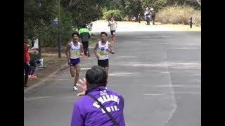 日本学生ハーフマラソン2019 20.5km付近