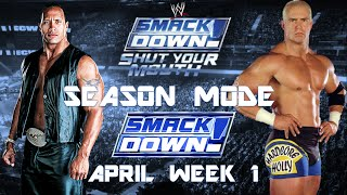 WWE SmackDown: Shut Your Mouth Season Mode #1 (Sparky Plugg!)