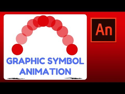 How To Animate in Flash (Animate CC) - Graphic Symbol Animation