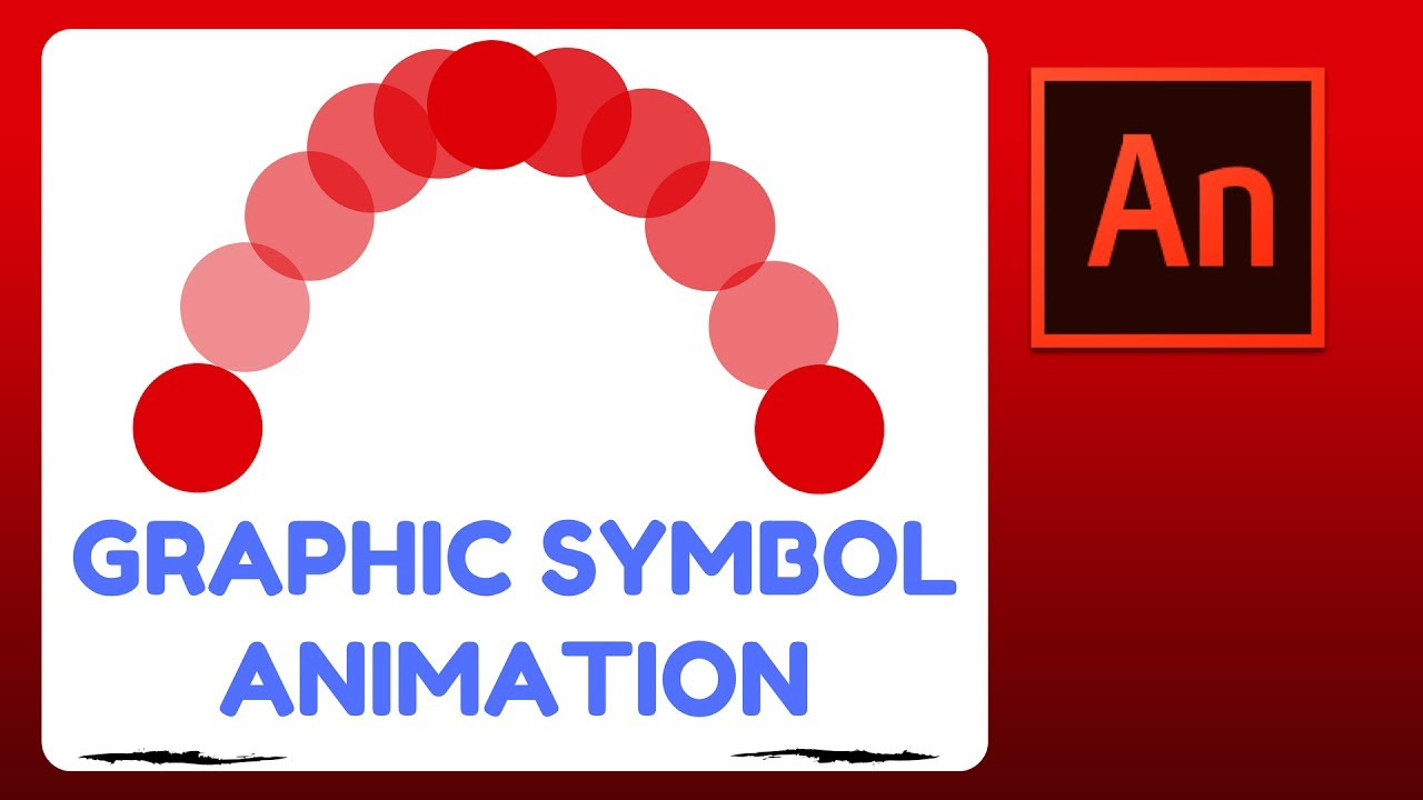 How To Animate In Flash (animate Cc)  Graphic Symbol Animation